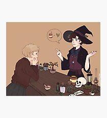 Femlock Witch Shop Photographic Print