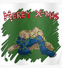 221B Christmas Poster
