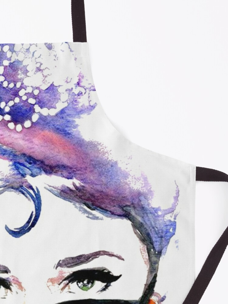 Alternate view of Audrey Hepburn Abstract Apron