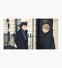 The Address is 221B Baker Street Photographic Print