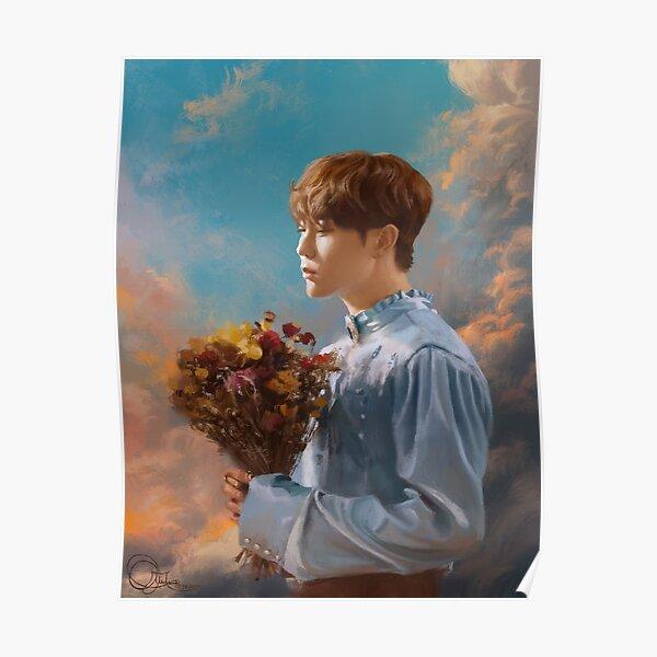 SEVENTEEN's SEUNGKWAN   'Fallin Flower' Fan Art Poster