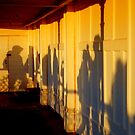 Shadows on the Pier by mikebov