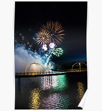 Southport Fireworks Show Poster