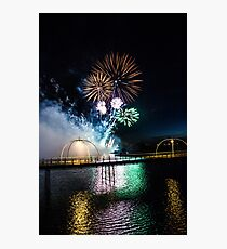 Southport Fireworks Show Photographic Print