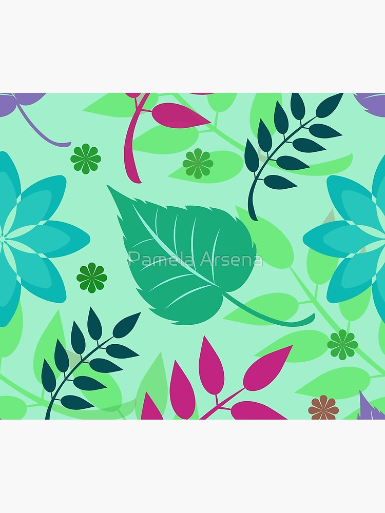 Colorful Spring Leaves Print by xpressio