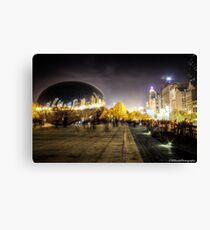 Chicago - The Bean Canvas Print