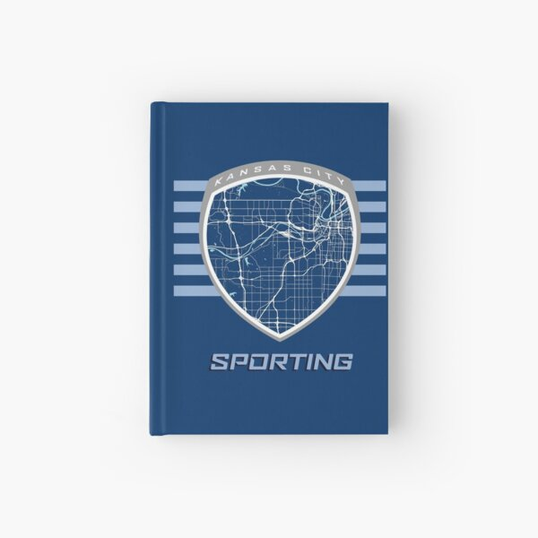 Kansas City Map in Sporting Colors Hardcover Journal