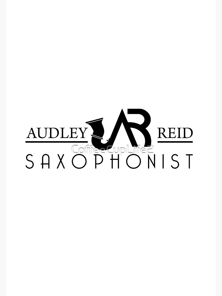 Audley Reid Saxophonist: White Series by CoffeeCupLife2