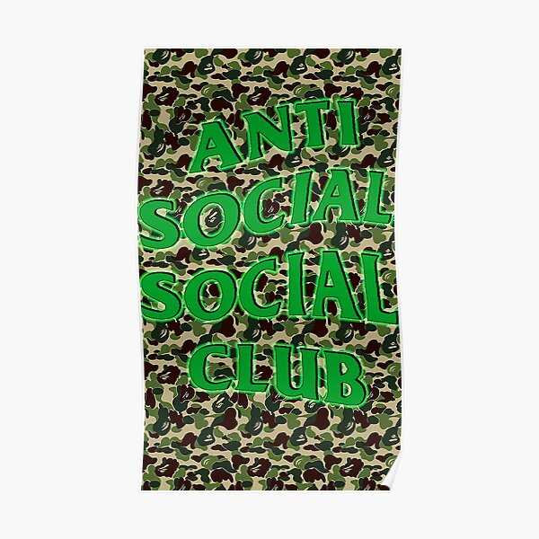 AntiSocial Social Club //// CAMO MASK //// RARE  //// GREAT FOR MUSIC FESTIVALS