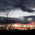 Sunset in Cerovac by branko stanic