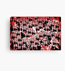 Gassed Canvas Print