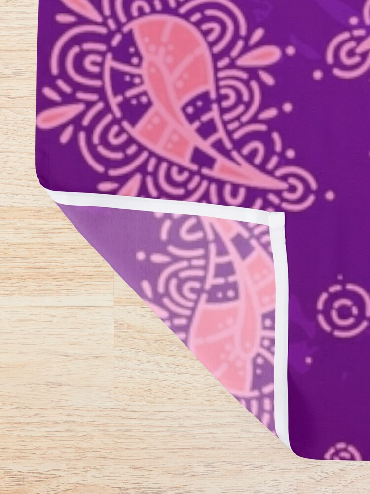 Alternate view of Cute Paisley Floral Pattern Shower Curtain