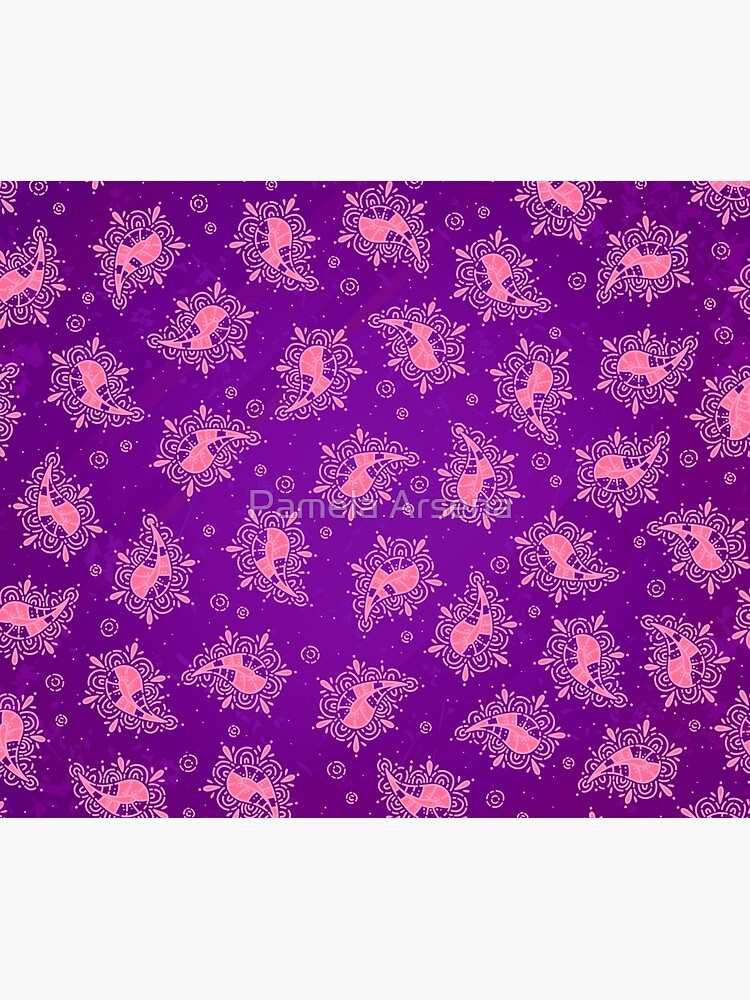 Cute Paisley Floral Pattern by xpressio