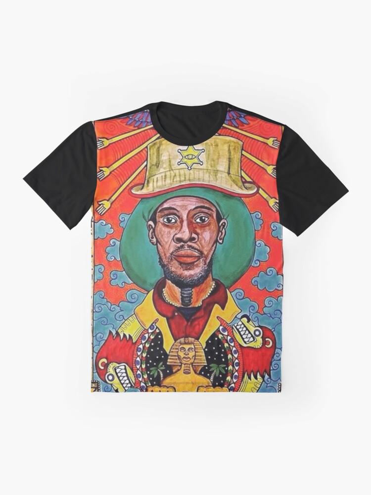 Alternative Ansicht von Midnite Vaughn Benjamin Grafik T-Shirt