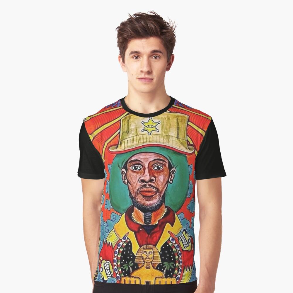 Midnite Vaughn Benjamin Grafik T-Shirt
