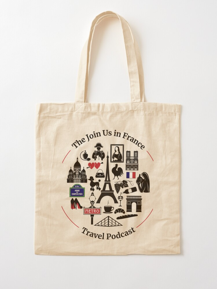 Alternate view of Join Us in France Logo Tote Bag