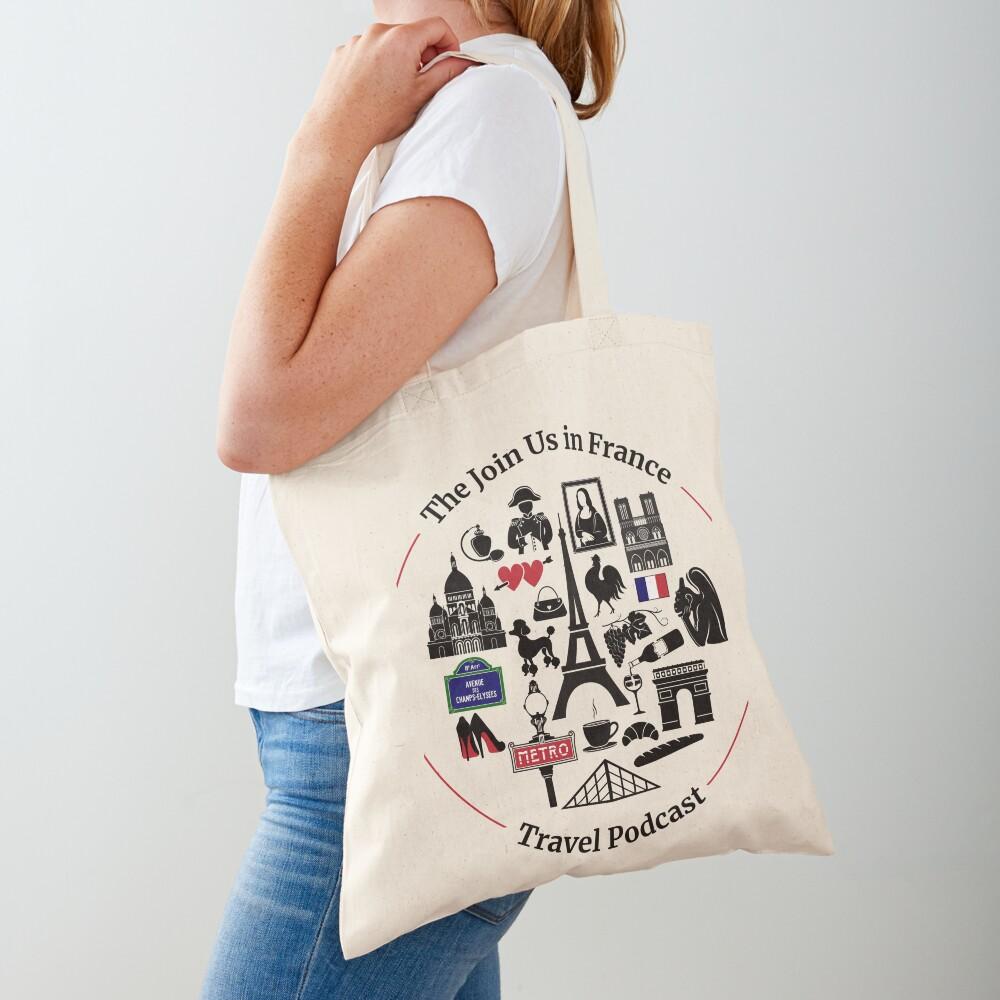 Join Us in France Logo Tote Bag