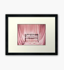 // PLEASE BE NAKED // Framed Print