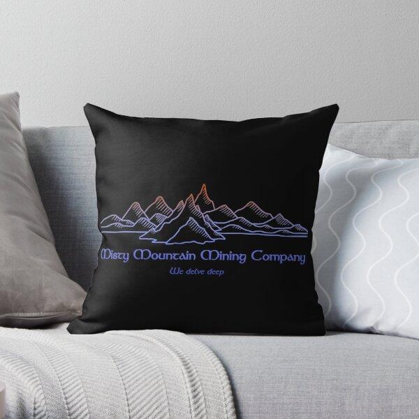 M.M. Mining Company Dk Throw Pillow