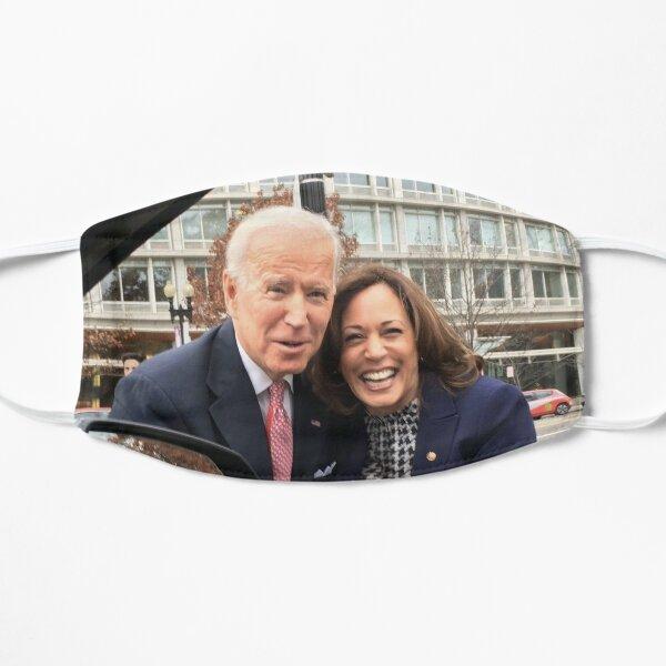 Biden Harris 2020 Flat Mask