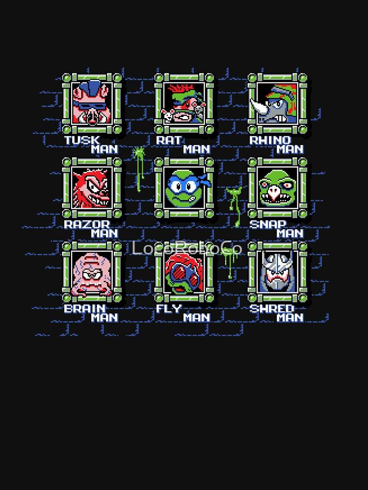 Teenage Mutant Mega Turtles (LEO) by LocoRoboCo