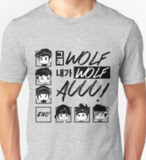 EXO (EXO-K) Wolf Chibi T-Shirt