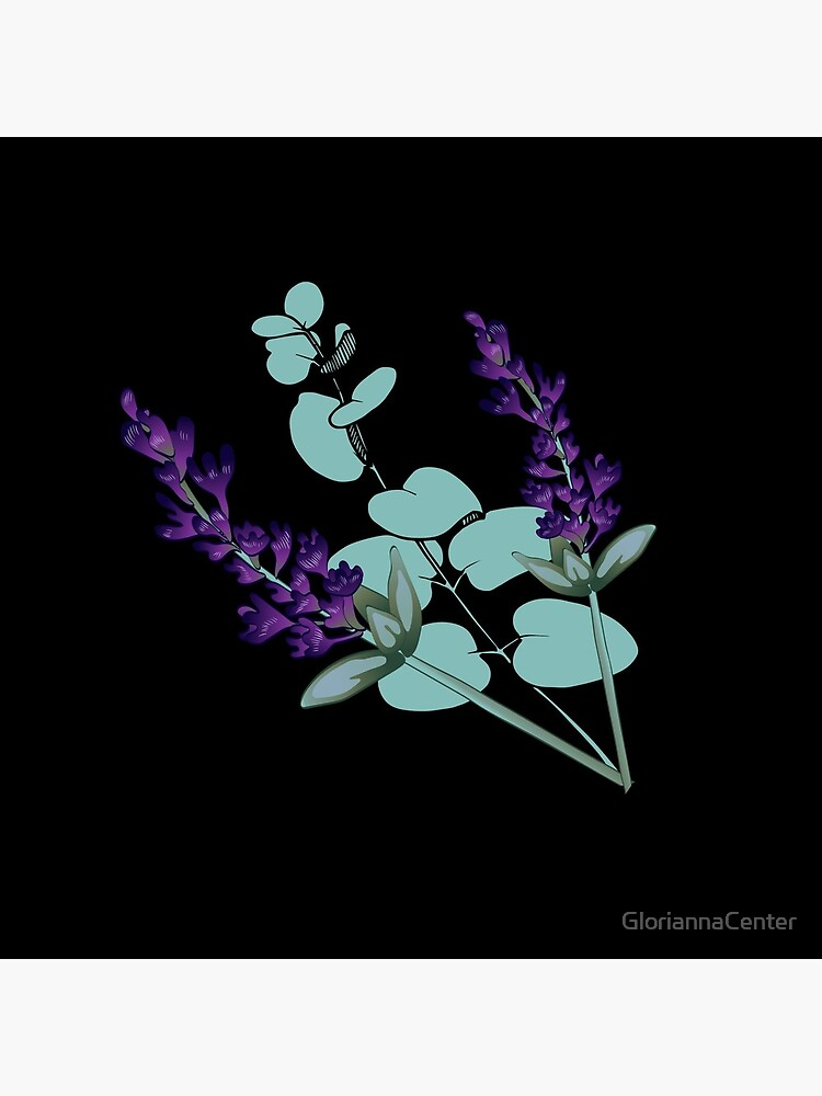 Eucalyptus and lavender by GloriannaCenter
