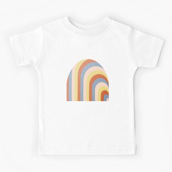 Retro Rainbow Kids T-Shirt