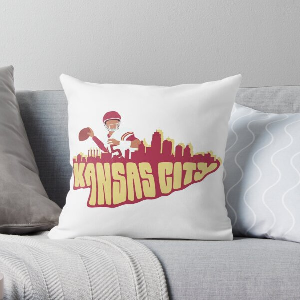 Kansas City Arrowhead  Throw Pillow