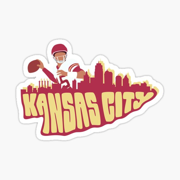 Kansas City Arrowhead  Sticker