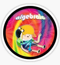Algebraic Sticker