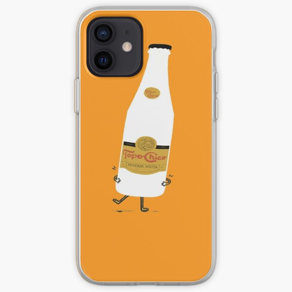 Funny Topo-chico iced runing iPhone Soft Case