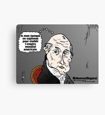 James MONROE chauve webcomic Canvas Print