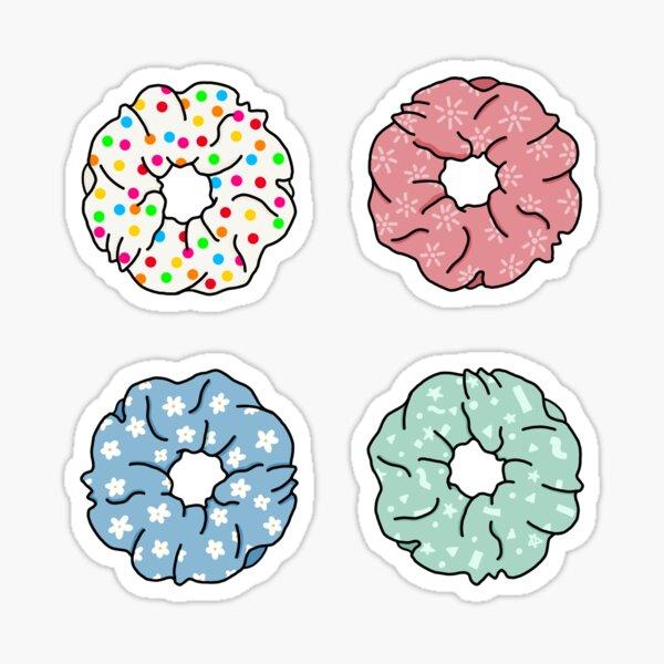 Colourful Scrunchies Sticker