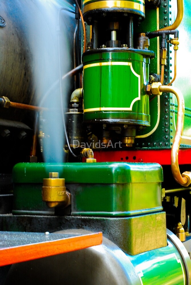 0276 Blowing Off Steam by DavidsArt