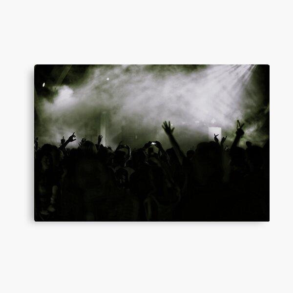 concert grey Canvas Print