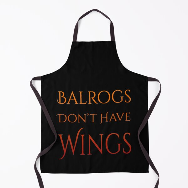 Definitely No Wings Apron