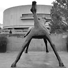 Horse and Rider - Hirshhorn Museum  by Matsumoto