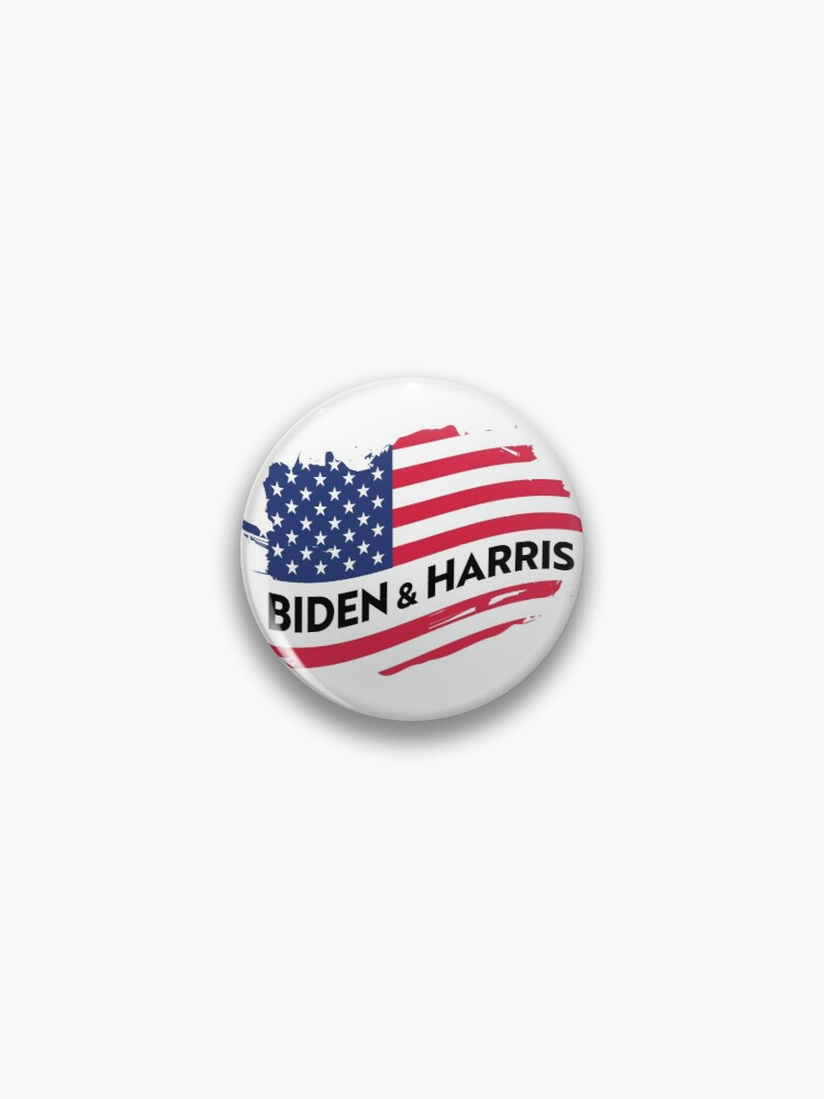 Biden Harris 2020 President Vintage Flag Usa Pin By Lacato Redbubble