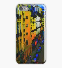 Paris, Rue St Louis, Dreaming iPhone Case/Skin
