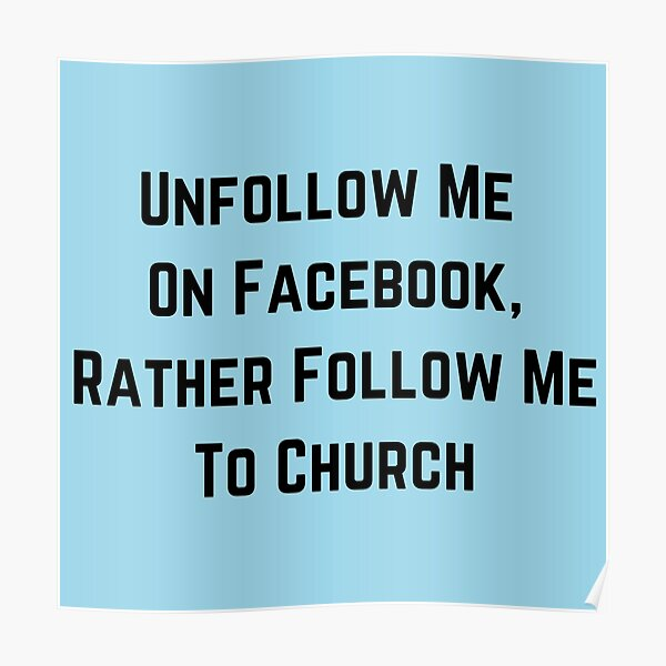 Me facebook unfollow How To