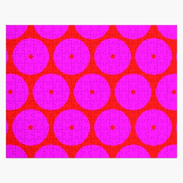 PINK EYE Jigsaw Puzzle