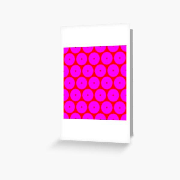 PINK EYE Greeting Card