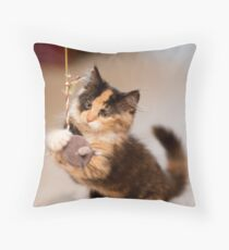 Purl Throw Pillow