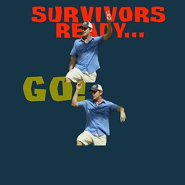 Survivors Ready... Go! by joebugdud