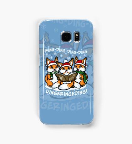 """What does the Fox Sing""  (sticker) Samsung Galaxy Case/Skin"