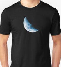 Almost Half Blue Moon 45 Unisex T-Shirt