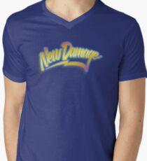 ND 80s Time Traveller (grunge) Mens V-Neck T-Shirt