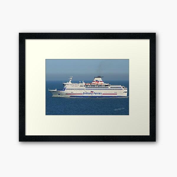 Brittany Ferries Bretagne Framed Art Print