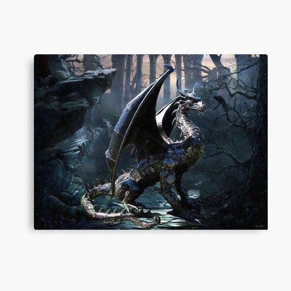 Dragons Of The Apocalypse Canvas Print